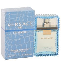 Versace Man by Versace Eau Fraiche Eau De Toilette Spray (Blue) 1 oz (Men)