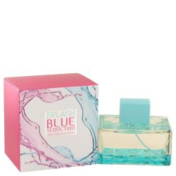 Splash Blue Seduction by Antonio Banderas Eau De Toilette Spray 3.4 oz (Women)