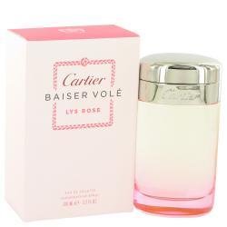 Baiser Vole Lys Rose by Cartier Eau De Toilette Spray 3.3 oz (Women)