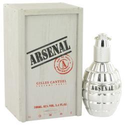 Arsenal Platinum by Arsenal Eau De Parfum Spray 3.4 oz (Men)