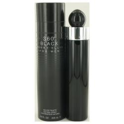 Perry Ellis 360 Black by Perry Ellis Eau De Toilette Spray 6.8 oz (Men)