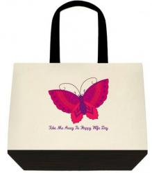 Take Me Away To Happy Wife Day - Ver2 Message Tote